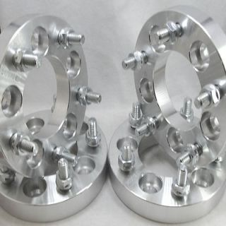 inch 5x4.5 to 5x5 5lug Wheel Adapters Spacers 12x1.5 studs