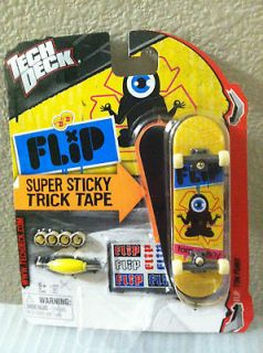 Tech Deck Flip 96mm Skateboard Tom Penny Super Sticky Trick Tape Brand