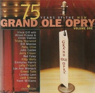 GRAND OLE OPRY   75 YEARS VOLUME 1   CD 2000