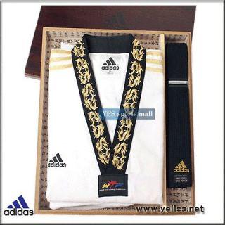 adidas taekwondo gold master edition serial number dobok/karatedo
