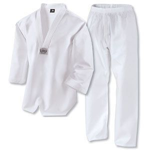 Taekwondo uniform / Taekwondo gi (WTF), medium weight 9 OZ 100% Cotton