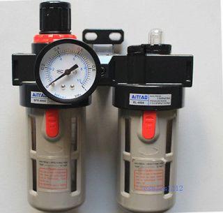 Air Pressure Regulator oil/Water Separator Filter Airbrush Compressor