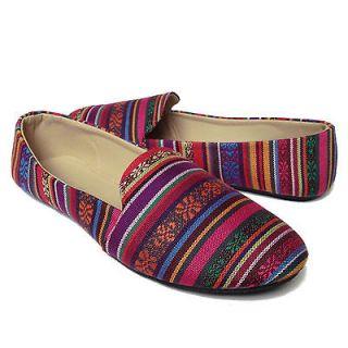 NEW Womens Casual Ballet Flat Heel Shoes Flats BLACK VELVET MULTI