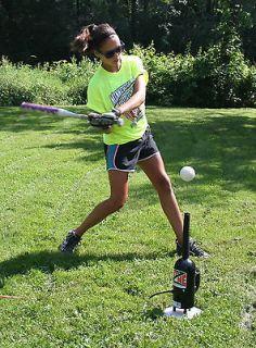 Hit Zone Air Powered Baseball & Softball Batting Tee