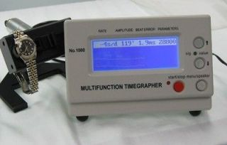 WATCH TIMING MACHINE MULTIFUNCTION TIMEGRAPHER 1000
