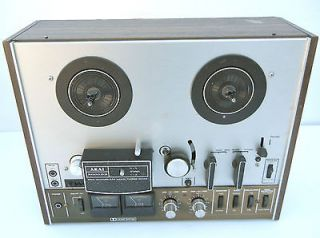 Vtg AKAI 4000DB 4000 DB Dolby REEL to REEL DECK Tape Recorder PARTS or