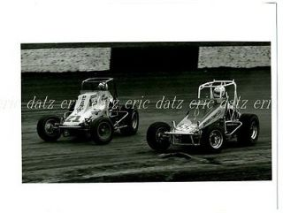 USAC/CRA Sprint Car, dirt track racing, Tim Green/Al Unser Jr., 8x10