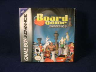 GBA Game Boy Advance   Board Game Classics CIB Complete in Box