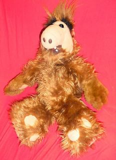 ALF ALIEN Plush Doll TALKING TALKS Vintage 1986 Coleco 18 WORKS nbc