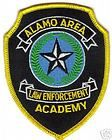 ALAMO AREA LAW ENFORCEMENT ACADEMY POLICE PATCH