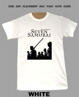Seven Samurai Akira Kurosawa GIVE US UR SIZE t shirt