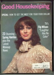 GOOD HOUSEKEEPING magazine A 1971 JIMMY STEWART Karen Graham FLIP