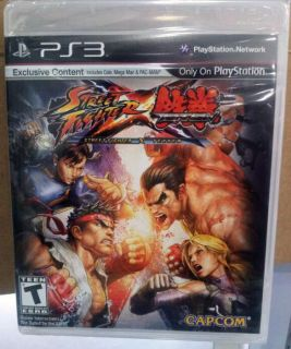 STREET FIGHTER X TEKKEN PS3 NEW VS VS. VERSUS Game Eng Cole Mega Man
