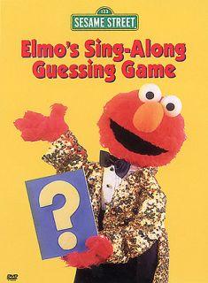 Sesame Street   Elmos Sing Along Guessing Game (DVD, 2003)