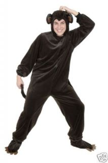 MONKEY animal adult funny mens womens costume plus 3X