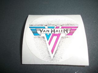 Van Halen Vintage Logo Sticker 80s Eddie David Lee Roth Alex Michael
