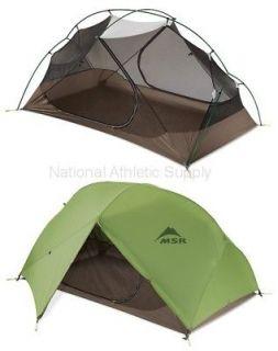 MSR Hubba Hubba Tent 2 Person Lightweight Shelter Green