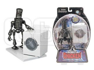 HUMPING ROBOT figure ACTION HIPS & WASHING MACHINE adult swim ROBOT