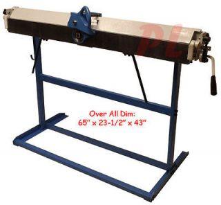 48 x 22 Gauge Sheet Metal BENDING BENDER CUTTING CUTTER Shear *Free