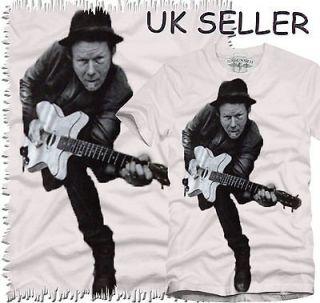 Tom Waits Johnny Cash Country Rock Blues Jazz Folk T shirts S M L XL