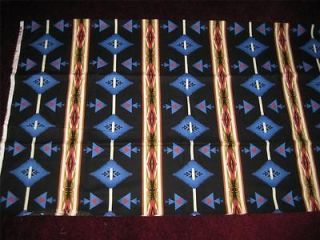 Newly listed Southwestern Navajo Western Fabric ~ Alittle under 6