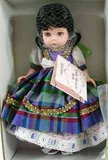 Madame Alexander 8 Doll  Beth Little Women # 33386 NIB NWT