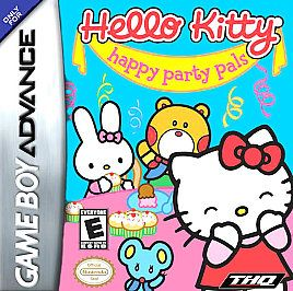 HELLO KITTY HAPPY PARTY PALS   GAME BOY ADVANCE GBA SP