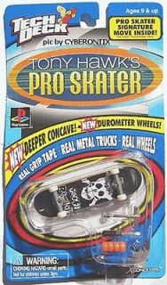1999 Tech Deck FLIP GEOFF ROWLEY Tony Hawk Pro Skater Fingerboard