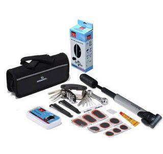 Bicycle Bike Tool Kit Mini Pump Puncture Repair Kit Frame Bike Bag