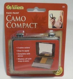 Allen Four Color Camo Camouflage Face Paint Compact Hunting Military w