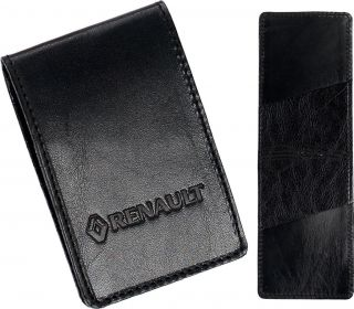 High Quality Renault Leather Key card Case