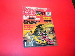 magazine 1984 October CAR TOONS PETERSEN PUBLISHING hot rod racing