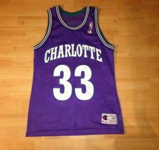 NBA Jersey Nba Champion Jersey Alonzo Mourning Charlotte Hornets