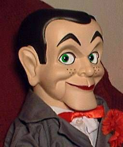 HAUNTED Ventriloquist doll EYES FOLLOW YOU Slappy Dummy Creepy