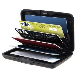 Aluminum Pocket Waterproof Business ID Credit Card Wallet Holder Case