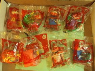 MCDONALDS 2011 ALVIN AND THE CHIPMUNKS TOYS THE MOVIE HAPPY MEAL SET 1