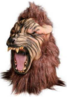 Howling Scary Big Bad Wolf Halloween Costume Mask New