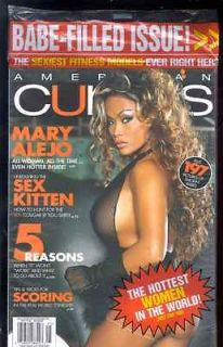 AMERICAN CURVES #60 MAY 2009 MARY ALEJO BRAND NEW SEALED 197 PICS OF