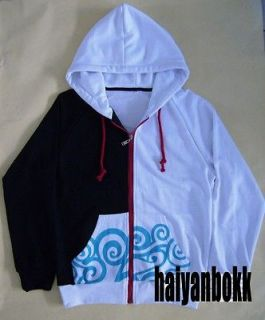 Anime Gintama Sakata Gintoki Clothing Hooded Sweatshirt Cosplay Hoodie
