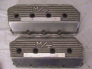 Vintage M/T Mickey Thompson Chrysler Hemi Valve Covers
