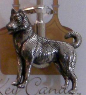 Siberian Husky Dog Key Locator Finder Purse Key Hook