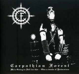 Carpathian Forest   We Are Going To Hell For This [CD New]