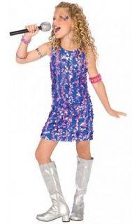 POP STAR DIVA Katy Britney Taylor Childs Girls Costume Fancy Dress Up
