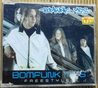 CD. Bomfunk MCs. Freestyler.
