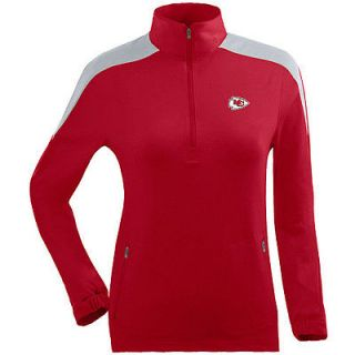 Antigua Womens Kansas City Chiefs Succeed Jacket