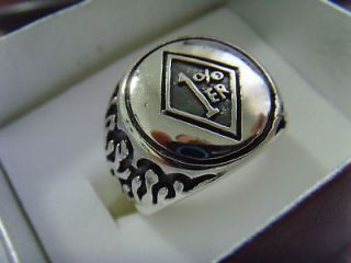 Newly listed 1%ER SOLID STERLING SILVER 925 GANG GROUP BIKER OUTLAW