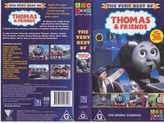 THOMAS THE TANK ENGINE THE VERY BEST OF !VHS VIDEO PAL A RARE FIND