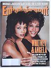 WHITNEY HOUSTON ANGELA BASSETT Dec. 1995 ENTERTAINMENT WEEKLY