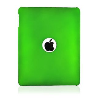 For Apple iPad 1 Green Rubberized Hard Shell Case Cover