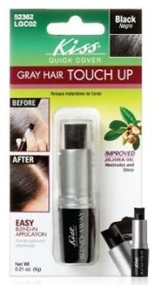 Kiss Quick Cover Gray Hair Blend Away Color 0.21oz